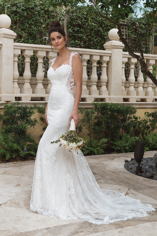 Figurbetontes Vintage Hochzeitskleid  Sincerity 19